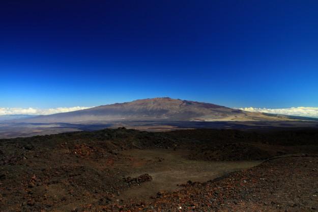 Gunung Mauna Kea di hawaii