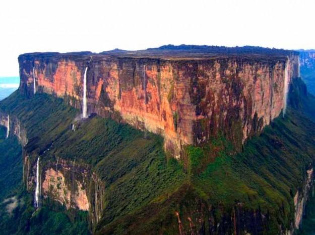 Gunung Roraima, Gunung Puncak Datar