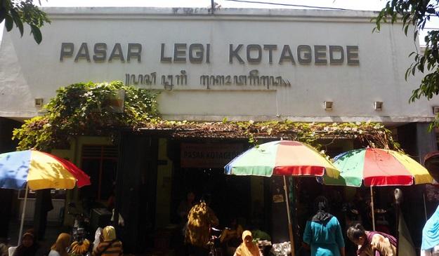 Pasar Legi Kotagede di Yogyakarta