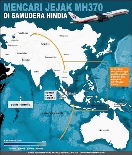 Mencari Jejak Pesawat MH370 di Samudera Hindia
