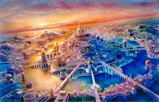 Peradaban surga Atlantis