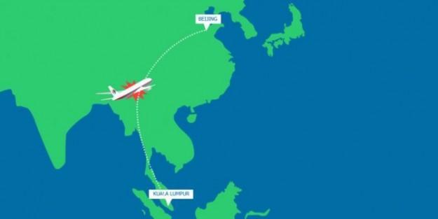 Pesawat Malaysia Airlines yang hilang