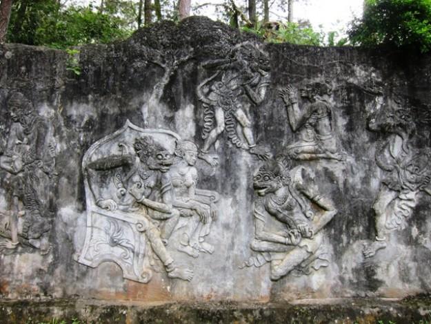 Relief di Goa Kiskenda