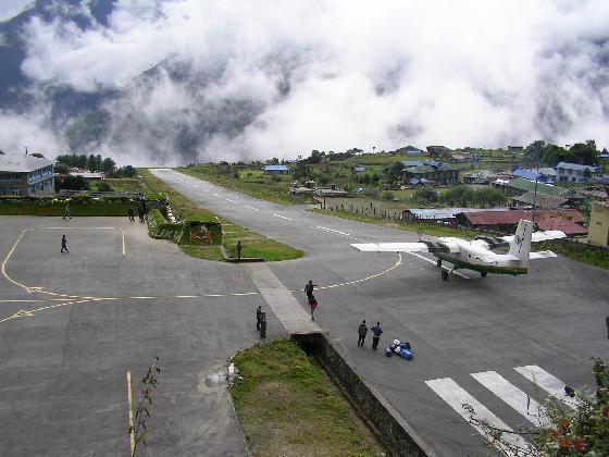 Tenzing Hillary Airport, Nepal