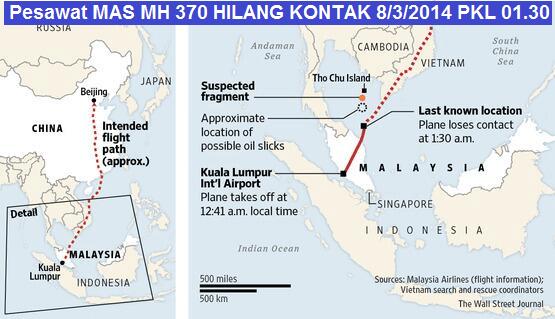 Terkuak Misteri Kata Terakhir Pilot MH 370