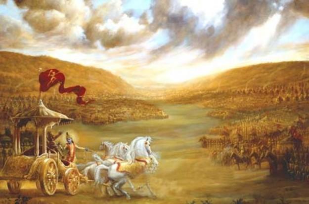 Gambaran perang bharatayudha