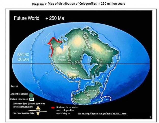 rupa bumi 250 juta tahun yang akan datang