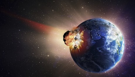 Dampak Tabrakan Asteroid Mengubah Permukaan Bumi