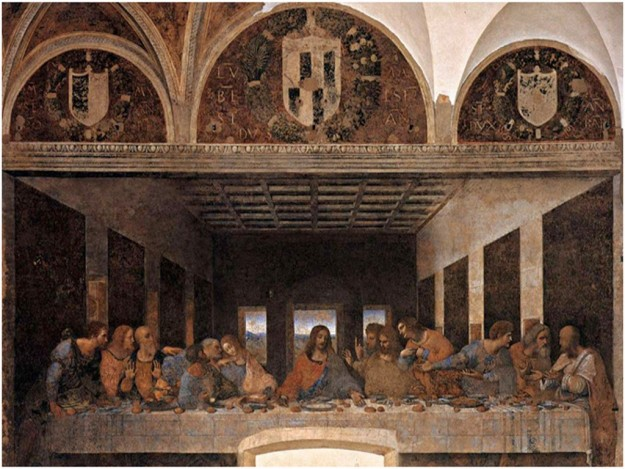 "Lukisan ""The Last Supper Of Jesus"""