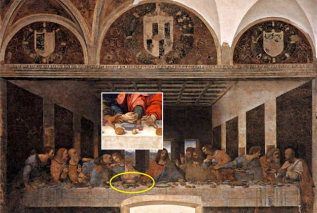 Teka - Teki Lukisan ' The Last Supper ' Karya  Leonardo da Vinci