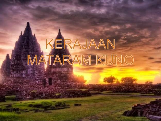 Kerajaan Mataram Kuno