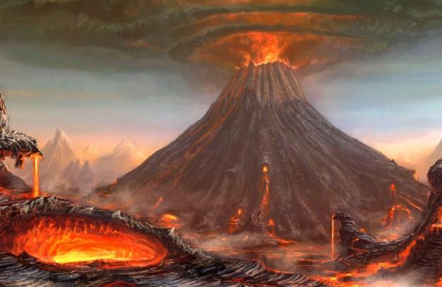 Letusan Dahsyat Gunung Sunda