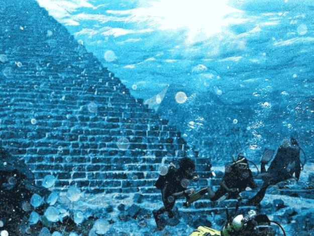Keajaiban Piramida Besar Di Bawah Samudera Atlantik